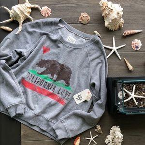 🌴🌼BILLABONG- CALIFORNIA BEAR SWEATSHIRT🌼🌴